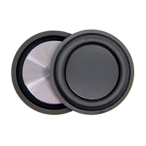 Xuniu Membrane de Vibration de diaphragme de radiateur de Basse fréquence en Caoutchouc de Basse fréquence de pour Le Haut-Parleur de Bluetooth de DIY