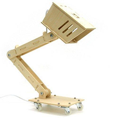 FWEF assemblato legno intaglio incandescente economizzatrice d'energia lampade Dimmable creativo lampada da tavolo DIY Lampada , non adjustable light type