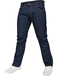 Newfacelook Mens Work Jeans Heavy Duty Denim Pants Straight Fit Trousers