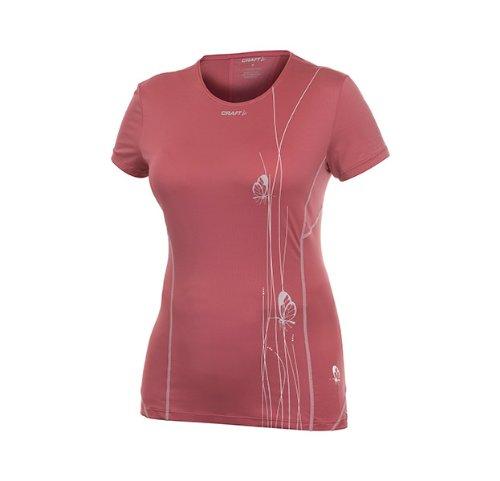 Craft Damen Funktions-Shirt Cool Tee mulberry
