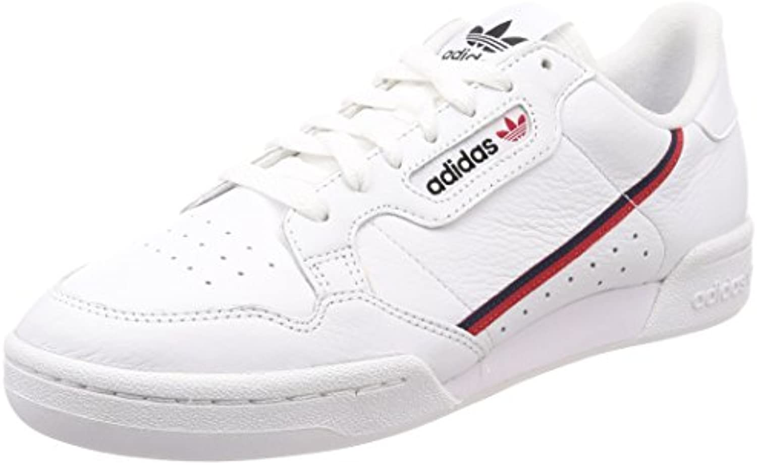 adidas Originals Continental 80 Sneaker B41674 White/Scarlet Gr. 36 UK 3 5