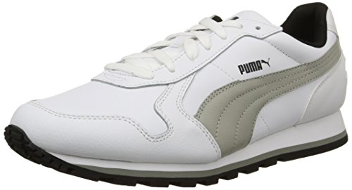 PumaSt Runner Full L - Zapatillas de Running Unisex adulto, Bianco/Limestone Gray, 41