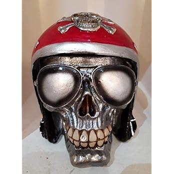 Handgefertigter Totenkopf Harley