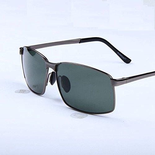 Wkaijc Flash-Liang Herren- Quadrat Fahrer Sonnenbrille High-End Mode Individualität Komfort Sonnenbrille,A