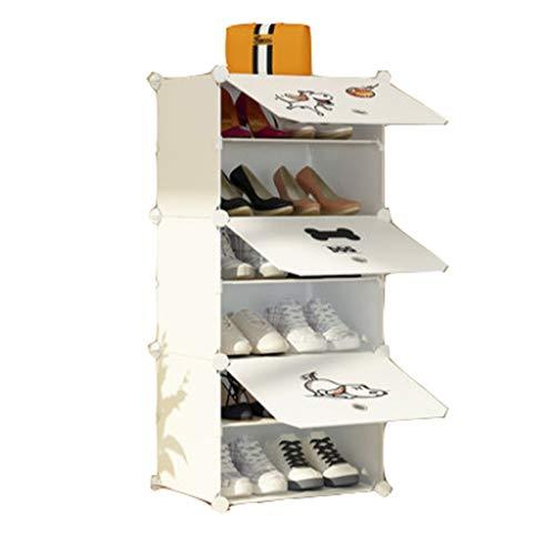 Estante para Zapatos Múltiples Capas de Zapatos para el hogar Multifunción 4 Capas, 6 Capas, Mini...