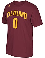 Kevin Love Cleveland Cavaliers Men's NBA Adidas Player Maroon T-Shirt