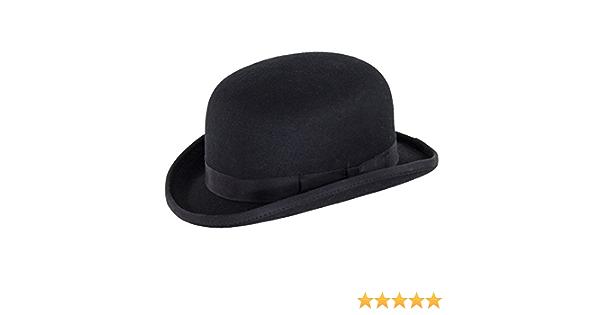 Black Denton Hats Fashion Bowler Hat