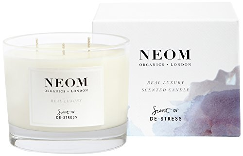 Neom Organics London Real Luxury Three Wick Scented Candle 420 g