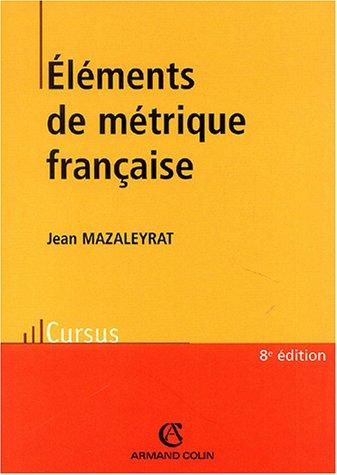 Eléments de métrique française