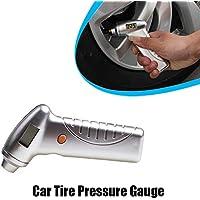 Medidor de presión de neumático de coche digital probador de presión de neumático con retroiluminación LED