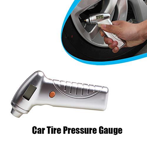 Digital Tyre Pressure Gauge Car Reifen-Druckprüfer mit Backlight LED-Display Motorrad-Druck Diagnostik-Tools Led-backlight-display