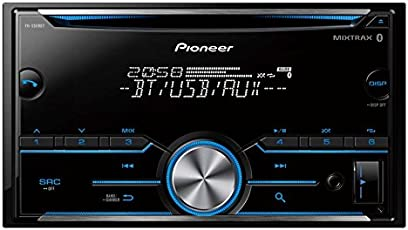 Pioneer FH-S509BT CD RDS Receiver (Black)