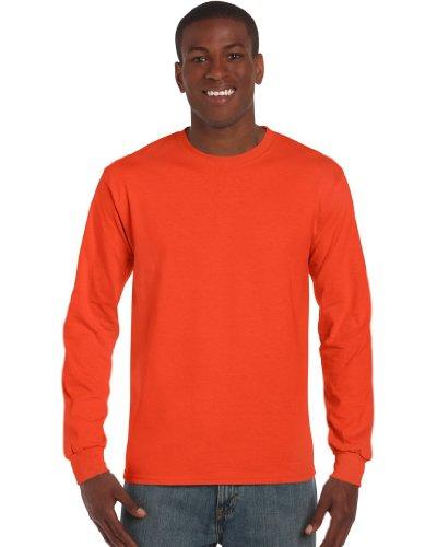 GILDANHerren T-Shirt Orange - Orange