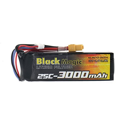 Preisvergleich Produktbild SUOSI BlackMagic- 3000mAh 11.1V 25C Akku mit hoher Kapazitt f¨¹r DJI PHANTOM CX-20 Quanum Nova