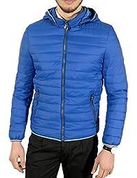 Tom Tyler Piumino uomo 100 grammi giacca giubbino con cappuccio blu nero s  m l xl xxl fad18735005