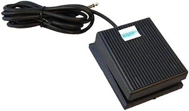 HQRP Pedale universale di sustain tipo Switch al piede per yamaha/Casio/Roland/M-Audio/Korg/Kurzweil Tastiere digitali