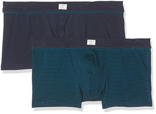 ESPRIT Herren Boxershorts 077EF2T001, Blau (Teal Blue 455), Medium (Herstellergröße:5) (Teal Unterwäsche)