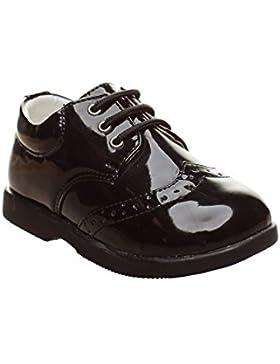 [Patrocinado]Paisley of London Zapatos de Vestir Negros Para Niños