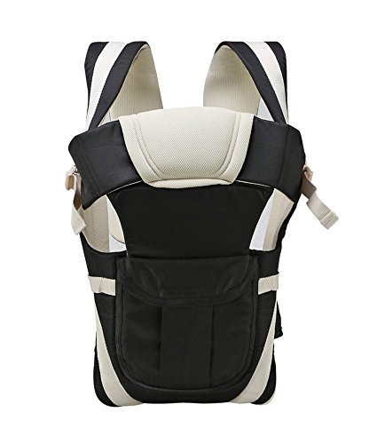 GTC Adjustable Hands-Free 4-in-1 Baby Carrier Bag , Carry Bag , Front Carry Bag with Comfortable Head Support & Buckle...