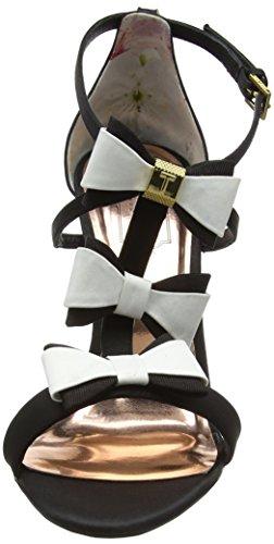Ted Baker Damen Appolini Geschlossene Zehe-Fersen Mehrfarbig (Black/white)