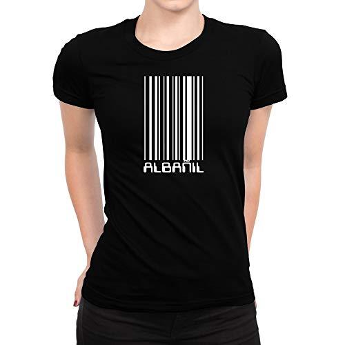 Idakoos Albañil Código De Barras - Camiseta Mujer