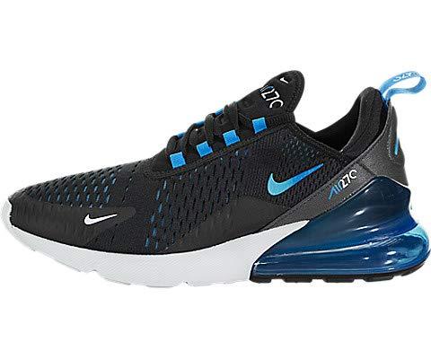 Nike AIR MAX 270 Sneaker Herren Schwarz/Blau - 41 - Sneaker Low
