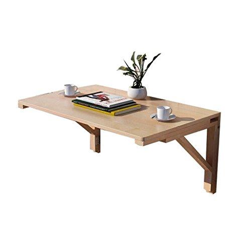 Laptoptisch Computertisch Lapdesks wandtisch klappbar Wandklapptisch Holz-Wand-Drop-Leaf-Tabelle Küche und Esstisch Schreibtisch Daheim Büro Schreibtisch Arbeitsplatz Schreibtisch für kleine Räume -