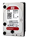 WD Red Pro 2TB interne Festplatte SATA 6Gb/s 64MB Cache 8,9 cm 3,5 Zoll 24x7 7200Rpm optimiert für SOHO NAS Systeme 1-16 Bay HDD BULK WD2002FFSX