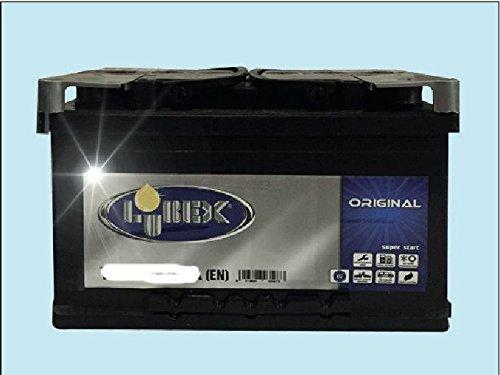 Batteria per Auto LUBEX 45AH Spunto 400A