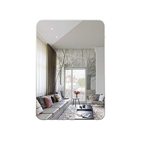 Badezimmerspiegel Perfektes Design Rechteckig Perfecmodern Stilvoller rahmenloser Badezimmerspiegel Explosionsgeschützter Glas-Waschtisch-Wand Badezimmerspiegel Bad-Waschtisch-Wandspiegel -75 × 100c -