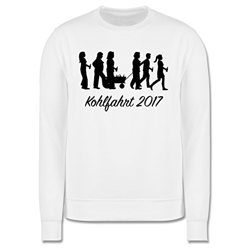 Anlässe - Kohlfahrt 2017 - Herren Premium Pullover Weiß