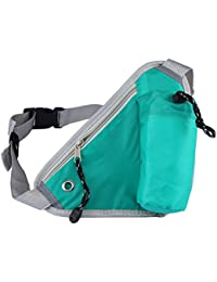 YFXOHAR Outdoor Sports Running Triangular Waist Bag Pack Water Bottle Pocket Bag-Color May Vary