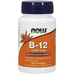 NOW Vitamin B-12 1000mcg - 100lozenges