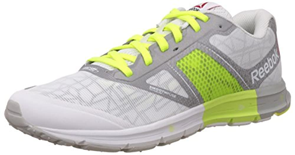 c01701b1 Reebok ONE Cushion 2.0 City Lights, Herren Laufschuhe, Weiß (White/Silver  Met