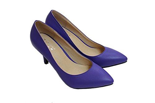 CFP , Sandales Compensées femme PurpleBlue