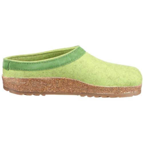 Pantofole donna Torben Haflinger 713001 98 Verde (grün/canarygreen)