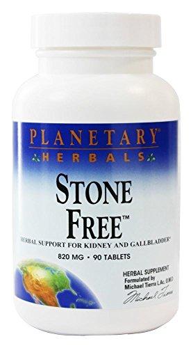 Stone Free (Steinfrei), 820 mg, 90 Tabletten natürliche Unterstützung gegen Nieren-und Gallensteine -
