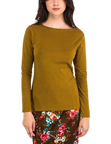 altromercato-auteurs-du-monde-bateau-t-shirt-donna-giallo-senape-large-taglia-produttorel