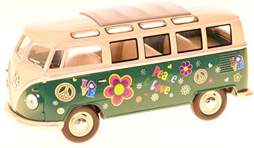 KINSMART Modello di Auto Volkswagen, Minibus Bulli da Hippy, in Scala 1: 24, 12176.