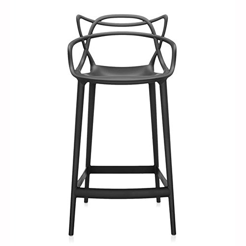 Master Stool in Black by Kartell