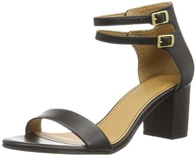 Esprit Cloudy Sandal, Chaussures de ville femme - Noir (001 Black), 36 EU