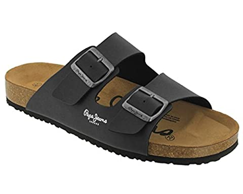 Pepe jeans - Bio man anth 2 boucles - Claquettes