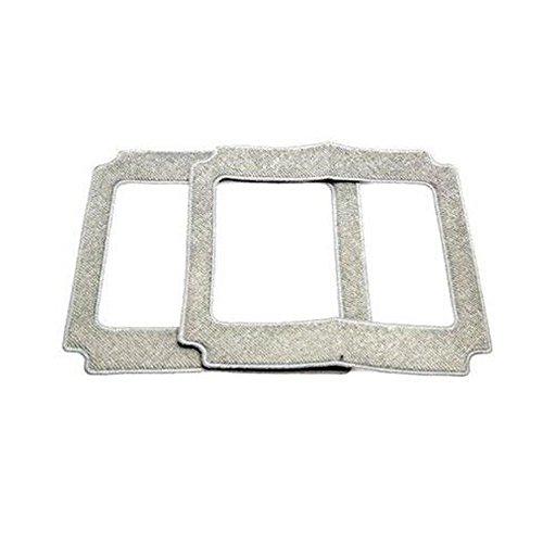 Microfaser-Pads für Ecovacs Für Winbot 830 2Stk.