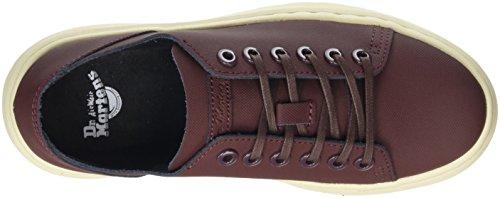Dr. Martens Unisex-Erwachsene Dante Old Oxblood Ajax Sneaker Rot (Old Oxblood)