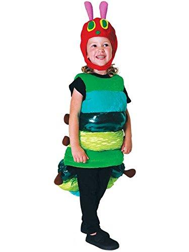 Kleine Raupe Nimmersatt Premium Raupe Kostüm Kinder Unisex Amscan