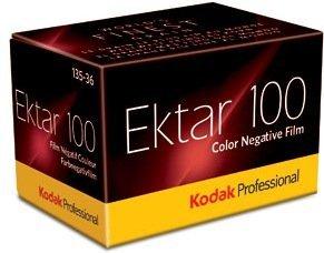 Kodak Professional Ektar 100-135/36 Kleinbildfilm (Farbe, 10 Stück