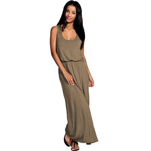 Urban Diva - Robe spécial grossesse - Sans Manche - Femme noir * taille unique Moka