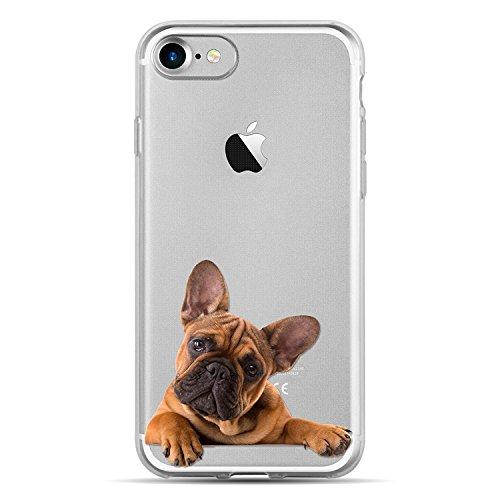 Blitz® JOKE Schutz Hülle Transparent TPU Cartoon Comic Case iPhone YO! DOG iPhone 6 6s sweet Dog