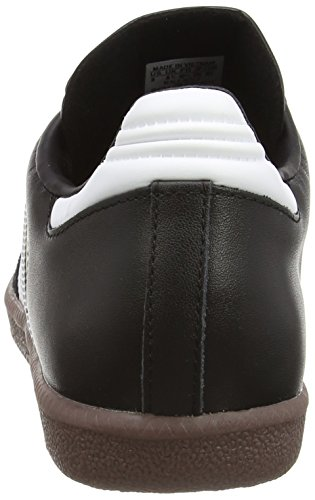 adidas Originals SAMBA G17102, Baskets mode mixte adulte - Blanc (Blanc/Noir1/Gum5), 44 2/3 EU Noir (Black/Running White)