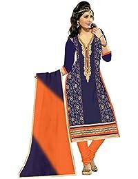 Mahi Fashion Women's Cotton Dress Material (MF10_Free Size_Multi-Coloured)